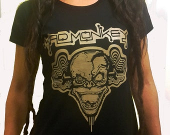"Woman's t-shirt ""MAD MONKEY"""