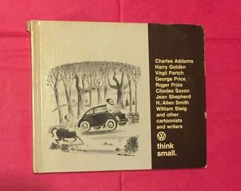 1967 Volkswagen Dealers Promotional Hard Cover Book