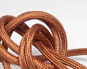 Textile cable node collection - copper