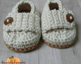 Boy's Loafers//Crochet