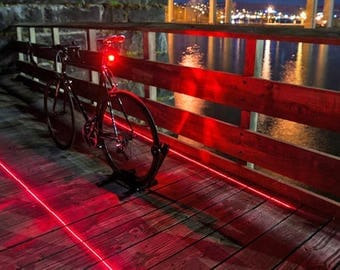 Bike led Tail Light with Laser Effect Burning Man Special!!