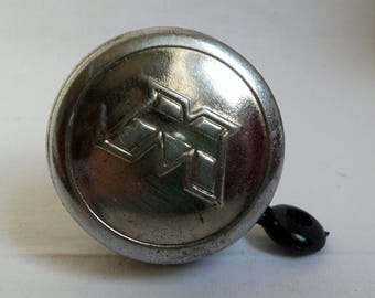 Vintage Motobecane bicycle Bell / old round Bell / Bell 1970-1980 / accessory bike / retro Horn / gift old bike bell