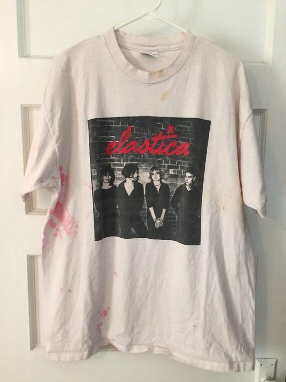 Elastica britpop tshirt suede 00 M so5BQfM