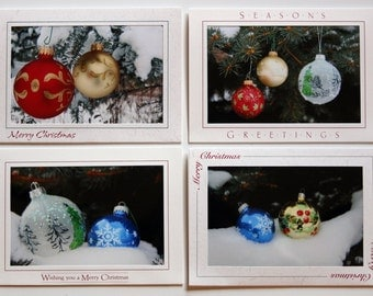 LoJo Photo Cards-Christmas Bulbs