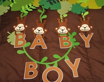 Baby Safari Themed Banner