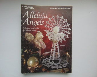 Alleluia Angel Crochet Pattern Book Leisure Arts Leaflet 2041