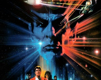 Star Trek III: Search for Spock Movie Poster Keychain in Resin