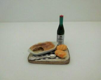 miniatures, miniature food, doll house food