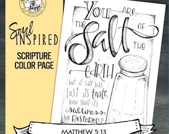 Soul Inspired Color Book Bearing Fruit Digital
