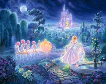 BUY 2, GET 1 FREE! Disney Princess Cinderella Cross Stitch Pattern Counted Cross Stitch Chart, Pdf Format, Instant Download /264198