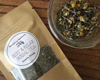 Rest and Relax Herbal Tea Blend