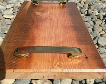 Rustic, Salvaged Serving Tray