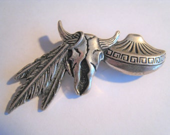 South Western Sterling Pin