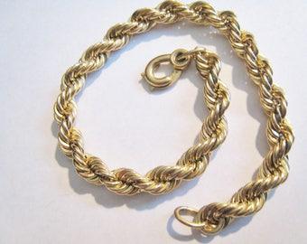 Gold Filled Bracelet 1/20 12kt Gold Filled