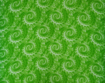 """Designer Fabric, Tie Dyed Print, Green Fabric, Upholstery Fabric, Sewing Accessories, 43"""" Inch Rayon Fabric By The Yard ZBR501D"""
