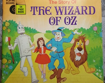 The Story of The Wizard of Oz Record and Book