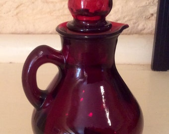 Avon Ruby Red Cruet
