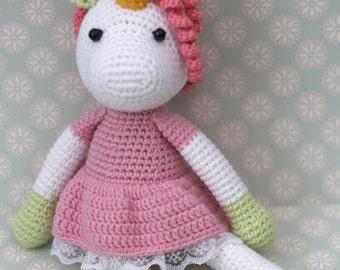 Crochet toy unicorn Unicorn crochet  Gift for girl Plush unicorn Unicorn toy Plush horse Stuffed horses