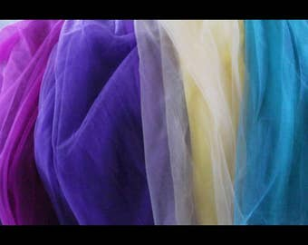 4 Custom color tulle skirts