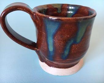 Ceramic Mug / Colourful Mug / Pottery Mug / Tea and Coffee Mug / Gift Idea