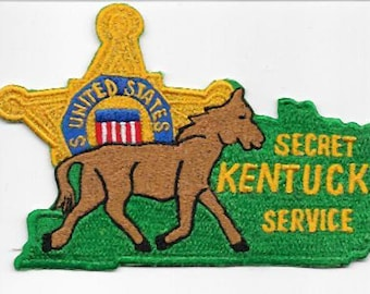 US Secret Service USSS Kentucky Louisville & Lexington Field Offices Service Patch
