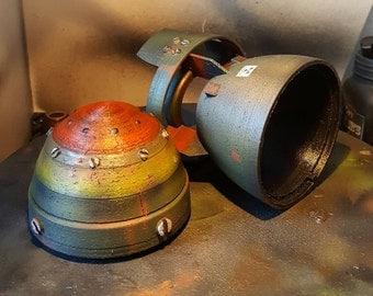 "Fallout 4 Mini Nuke 7"" Hollow For Storage!"