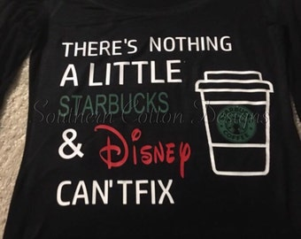 Starbucks and Disney Shirt