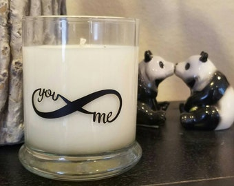 Infintiy You & Me Soy Scented Candle