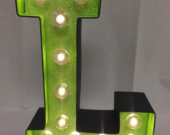 Marquee Letter Light - L