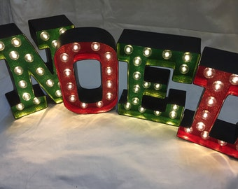Marquee Letter Lights - NOEL