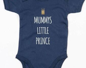 Mummy's Prince Baby Grow