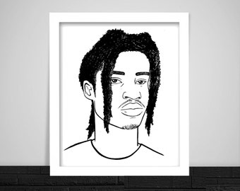 Denzel Curry Print
