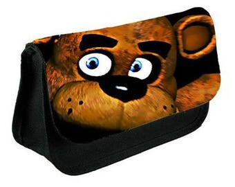 Five Nights at Freddy's pencil case/ Make up or Clutch Bag (FREDDY UP CLOSE)