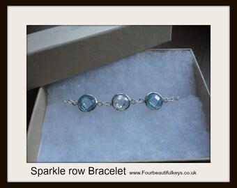 Sparkle Row Bracelet