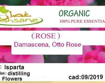 Damasco rose essential oil ROSE damascena rose OTTO