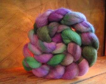 "Romney wool Wick 107 gr ""Lavender"" hand-tinted"