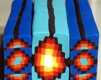Southwest Blue Cane Set