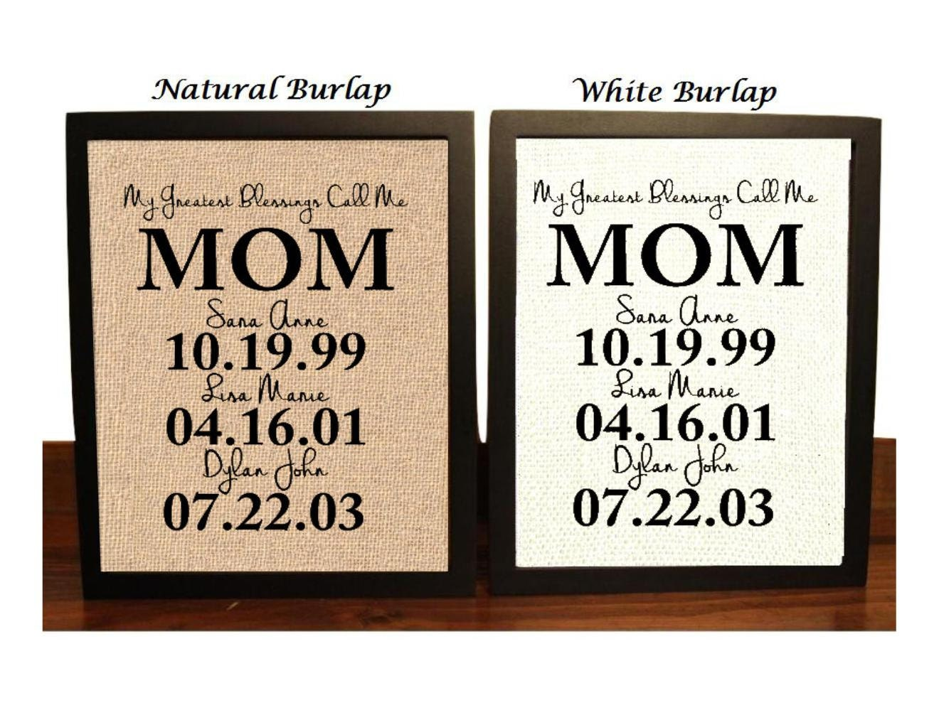Gift ideas for mom personalized gifts christmas