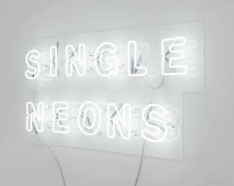 Letter Edition - Single Neon Letters