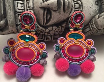 Chichen Itza Maya Collection-Earrings