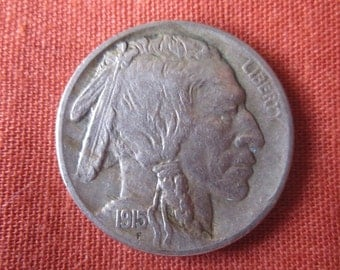 1915 Buffalo Nickel