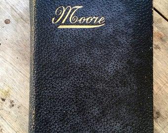 Thomas Moore, Irish Poet, antique poetry book, The minstrel boy, Irish ballads, Byron, collectible poetry, Irish singer, Lalla Rookh,1st ed