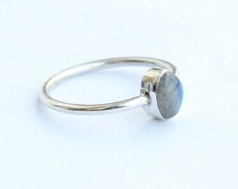 Labradorite ring, 925 Sterling Silver, Sterling Ring, Silver Ring