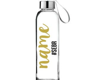 SEBR Glass Bottles with straps for SpoonieEssentialsBox