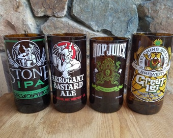Craft Beer Drinking Glasses
