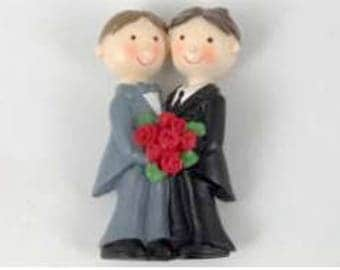 Magnet Wedding Favor Gay Marriage