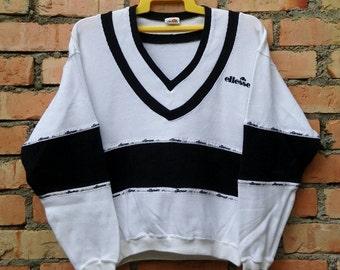Rare!!! Ellesse Small Logo Pullover Sweatshirt
