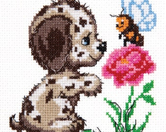 Cross Stitch Kit Who are you?