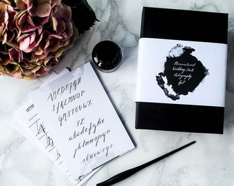 Personalised Wedding Date Calligraphy Kit