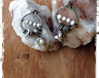 Up-Cycled Hardware Earrings
